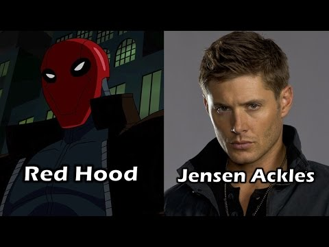 Characters and Voice Actors - Batman: Under The Red Hood