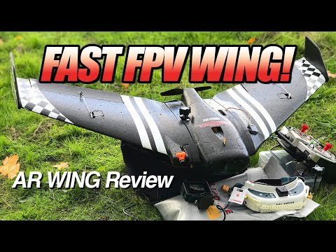 BEST Beginner FPV Wing? - SonicModell AR Wing - LOS, FPV, an