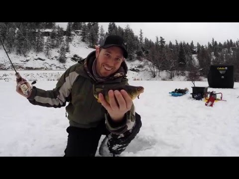 Ice Fishing Osoyoos Area - Featuring Yellow Lake