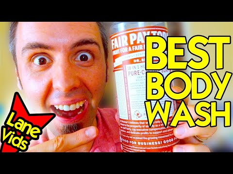 BEST BODY WASH EVER | Dr Bronner Castile Soap Review