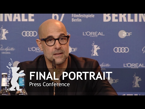 Final Portrait | Press Conference Highlights | Berlinale 2017