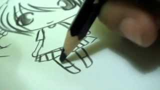 How To Draw Kartun Kucing