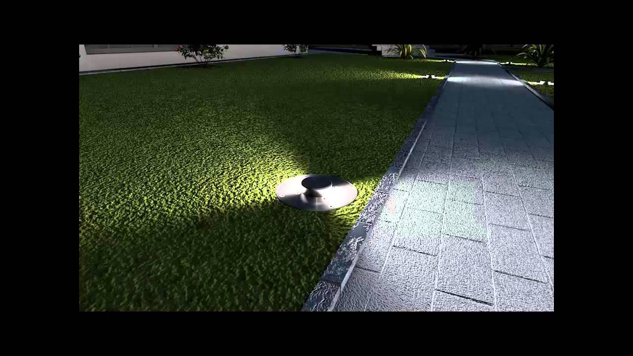 Luci giardino a elevazione automatica youtube for Luci da giardino