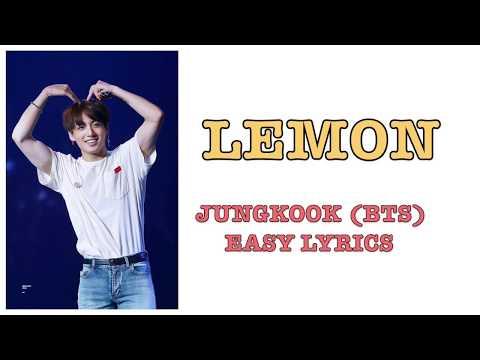 Jungkook[BTS]- Lemon|Easy Lyrics