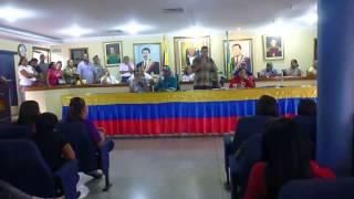 Alcalde Municipio Anaco Ing  Marcos Ramos y Comunidad x GMVV 9 9