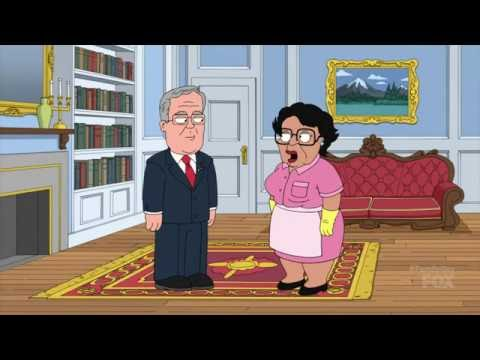 Family Guy - Jeb Bush And His Wife