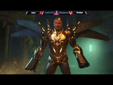UGL Alpha 3 INJUSTICE 2: Go Optical (Black Adam) Vs OD FullAuto (Deadshot)