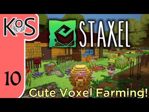 Staxel Ep 10: JAM FOR DAYS! - Early Access Voxel Farming - Let's Play, Gameplay