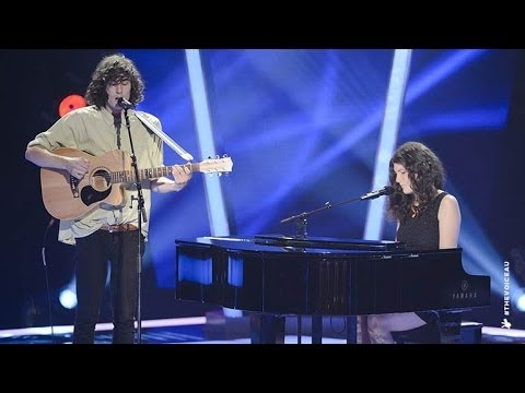 Gabriel & Cecilia Sings Laura Palmer | The Voice Australia 2014