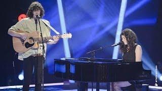 Gabriel & Cecilia Sings Laura Palmer | The Voice Australia 2014