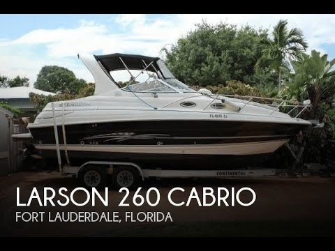 unavailable used 2008 larson 260 cabrio in fort lauderdale florida rh youtube com Larson Boats FX larson boat repair manuals