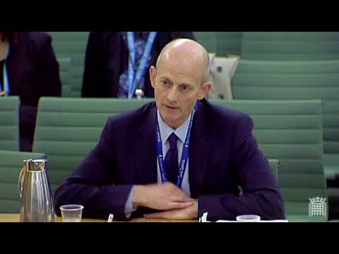 Stephen questions the head of DExEU about Brexit Impact Assesment papers