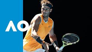 Tomas Berdych v Rafael Nadal match highlights (4R)   Australian Open 2019