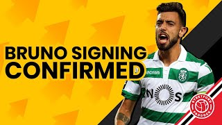 Bruno Fernandes Signing Confirmed!   Stretford Paddock Transfer Talk w/ Stephen Howson
