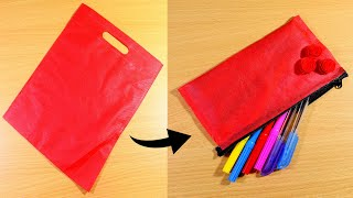 How To Make Pencil Bag From Cl…