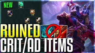 NEW CRIT ITEM CHANGES ARE THE WORST I'VE SEEN! Riot Is Destroying ADCs - League of Legends