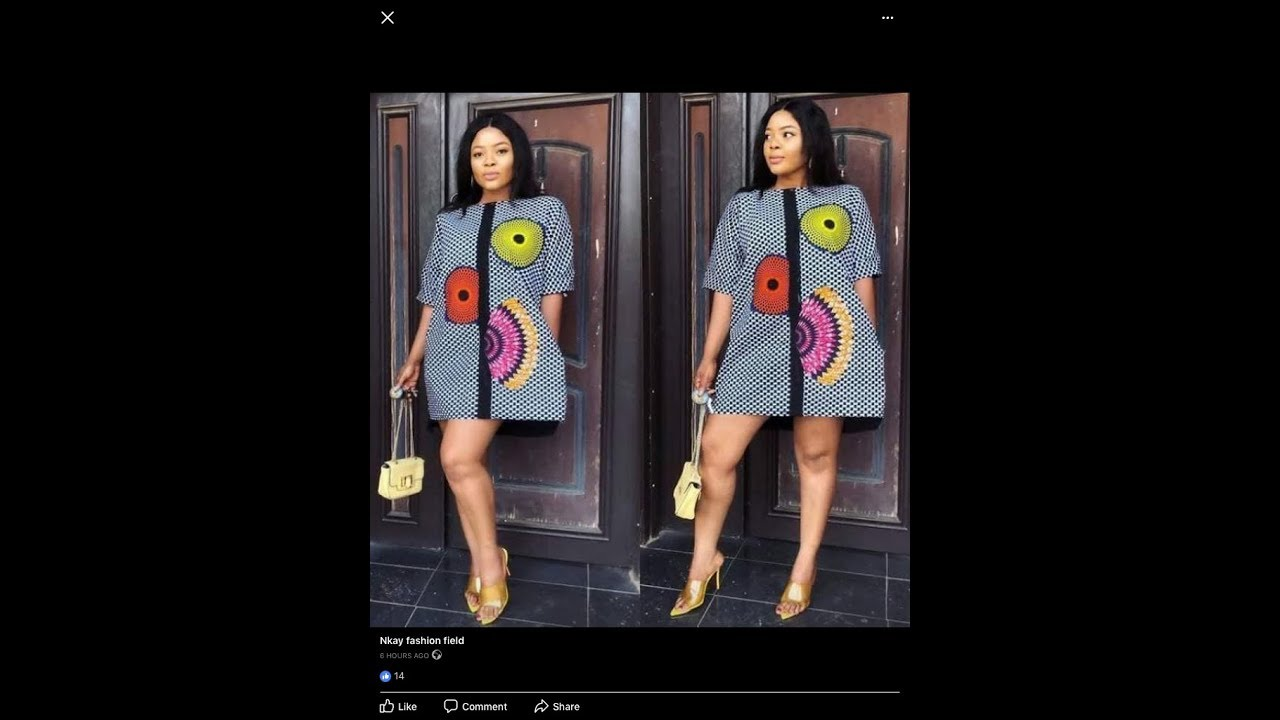 Download How To Make A Short Free Dress With Ankara Fabric