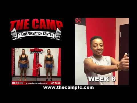 Jacksonville FL Weight Loss Fitness 6 Week Hardbody Challenge Results - Shardel K.
