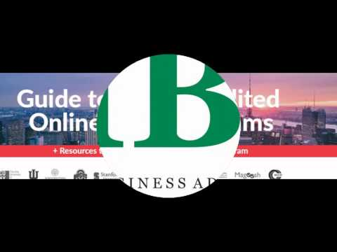 Online Accredited MBA Programs