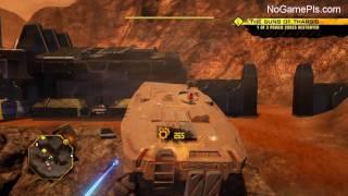 Red Faction: Guerrilla Walkthrough 13 The Guns of Tharsis