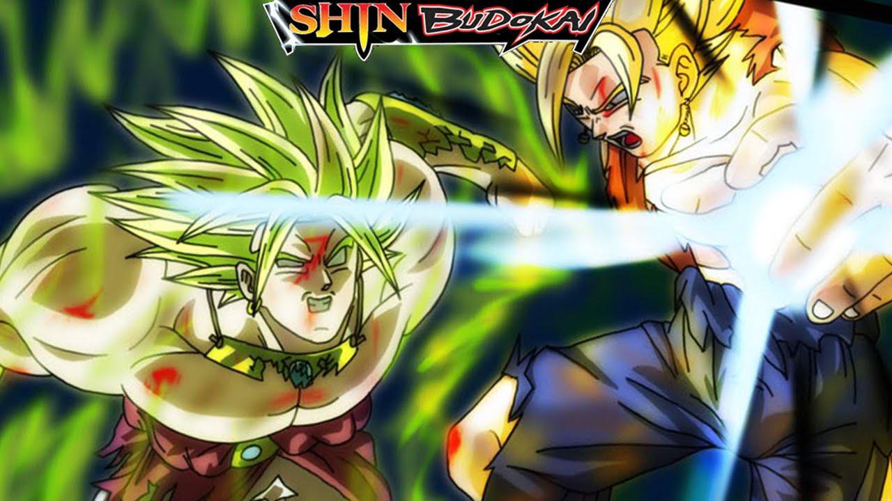 Super Vegito VS LSSJ Broly And Babidi's Puppets | Dragon ...