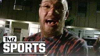 Conor McGregor- Respect for CM Punk...He's Not a WWE P**** | TMZ Sports