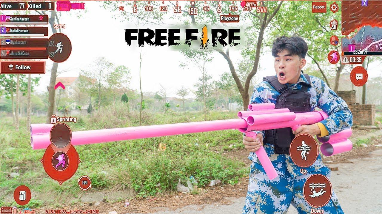 Battle Nerf War ToRung Tập 26  Phim Hài PUBG Real Life  Free Fire Ngoài Đời Thật Phần 7