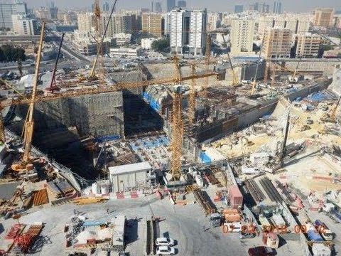 Qatar Rail, Doha Metro, Msheireb Station Vision - Reality v.2