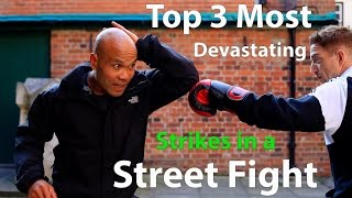 Top 3 Most Devastating Strikes in a Street Fight