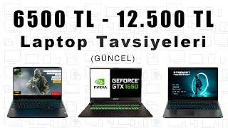 6500 TL - 12.500 TL Arası OYUN - İŞ - MÜHENDİSLİK  Laptop Tavsiyesi [2021]