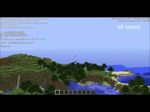 Minecraft Extreme Render Distance How Extreme Is It