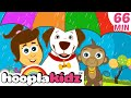 Rain Rain Go Away | Plus Lots More Nursery Rhymes Compilation For Kids By Hooplakidz | 60 Mins+ video