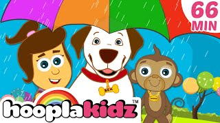Rain Rain Go Away | Plus Lots More Nursery Rhymes Compilation For Kids by Hooplakidz | 60 Mins+