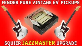 FENDER Pure Vintage 65' PICKUPS   Squier JAZZMASTER Upgrade