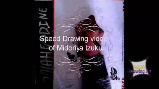 Speed drawing video of Midoriya Izuku | My Hero Academia