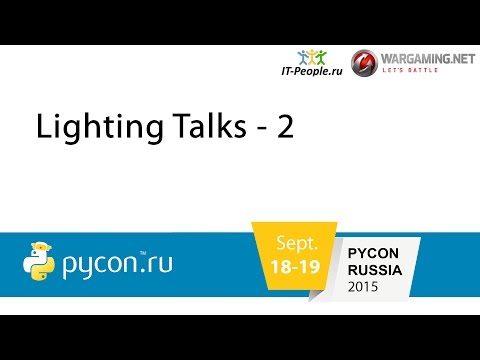 Image from Lightning Talks - 2