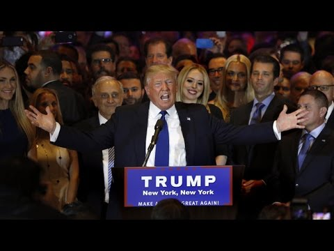 Donald Trump Wins GOP Primary In New York