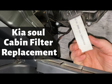 2010 – 2011 Kia Soul Cabin Air Filter Location – How To Remove Replace Change DIY Video Tutorial