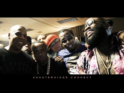 Rick Ross performs with Jay Z in Florida. Backstage MCHG Tour. #Masterminds Connect