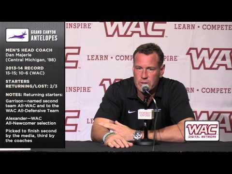 2014-15 WAC Basketball Preview - Dan Majerle, Grand Canyon