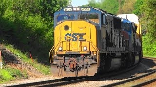 CSX & Norfolk Southern Almost Meet in Shenandoah Junction
