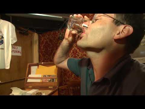 The Sour Toe Cocktail in Dawson City - Yukon Territory, Canada