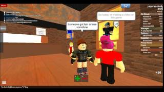Roblox - Work at a Pizza Place - A customer in the kitchen