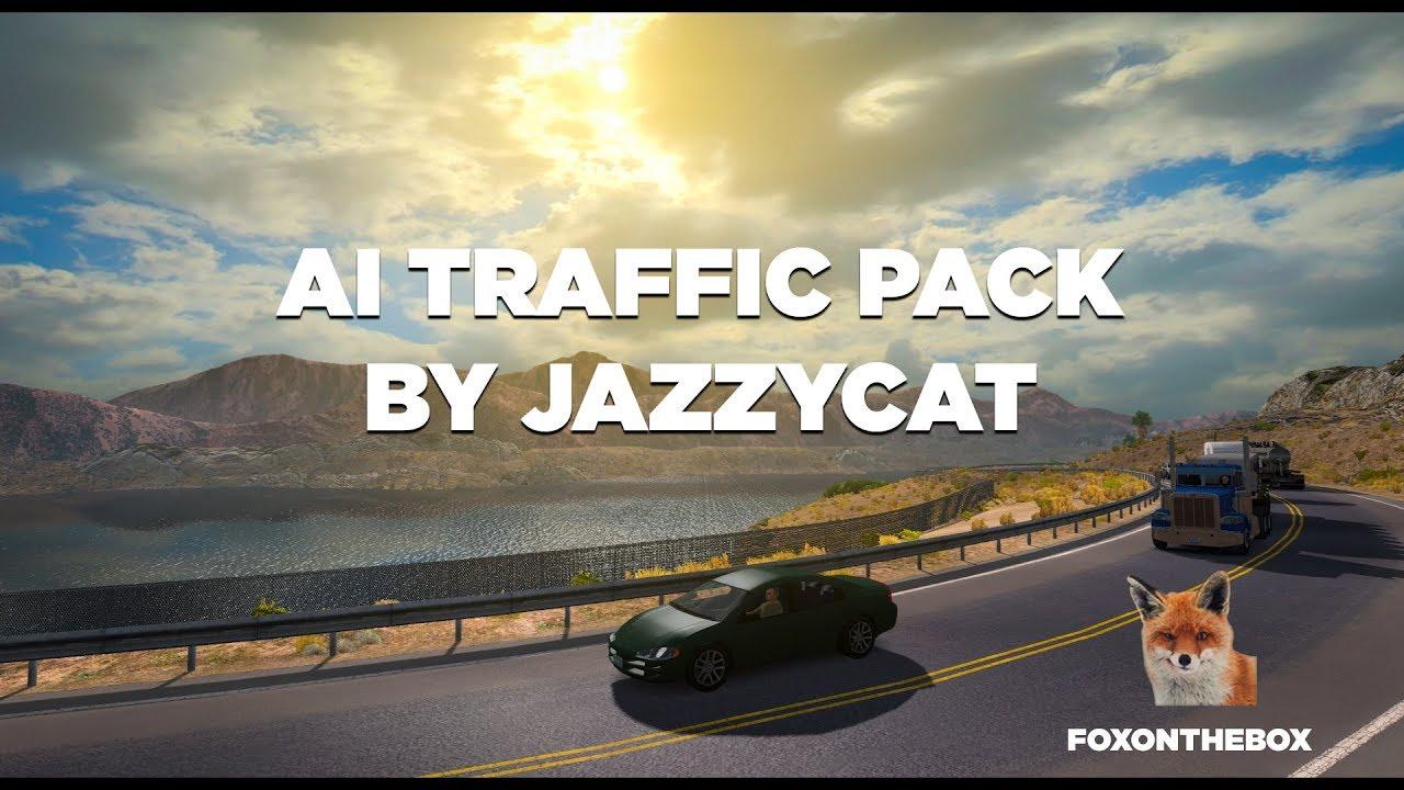AI Traffic Pack by Jazzycat v 2 9 | American Truck Simulator (ATS 1 28 Mod)