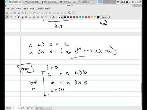 Number Theory: Base b Conversions