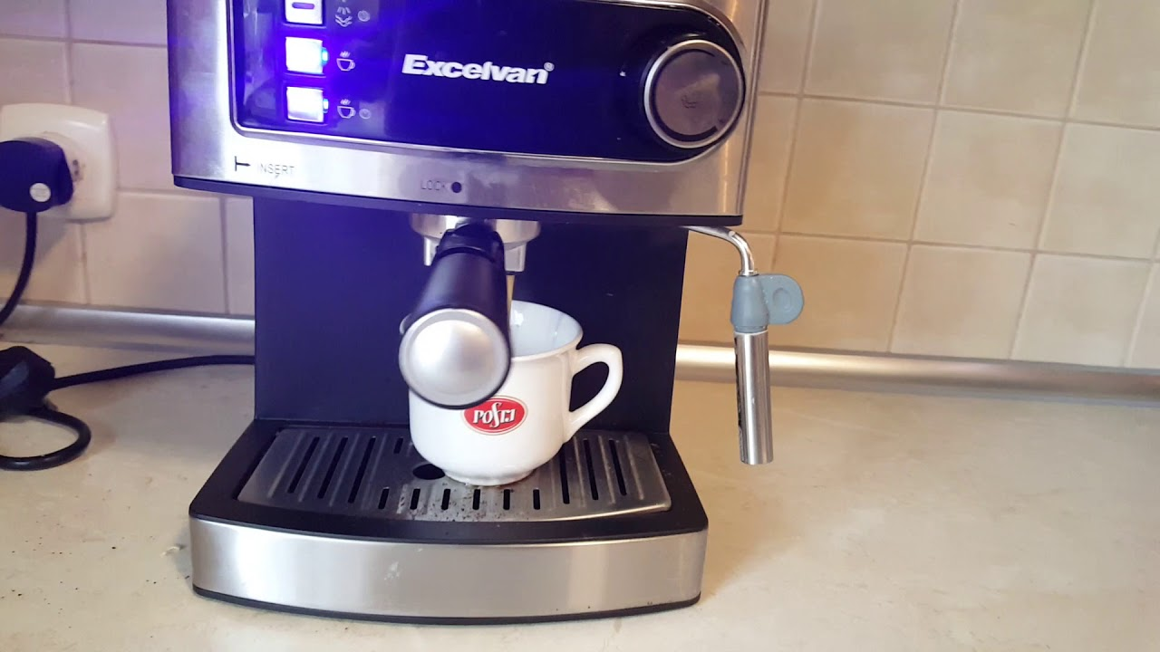 Excelvan Espresso Maker Youtube