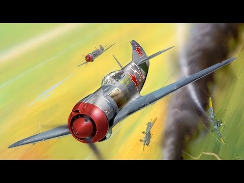 Wings of Russia Documentary. Part 2. Fighters of WW2 - The Stormy Years [English Language]
