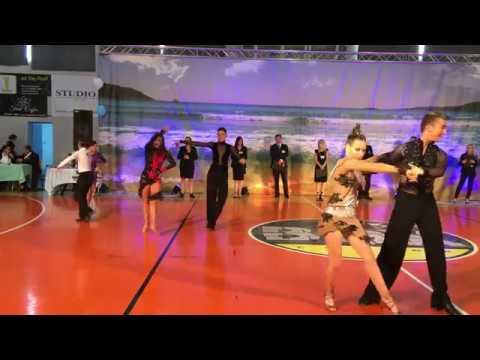 PELOPONNESE DANCE OPEN, Cha-cha-cha (5 dance Latin junior)