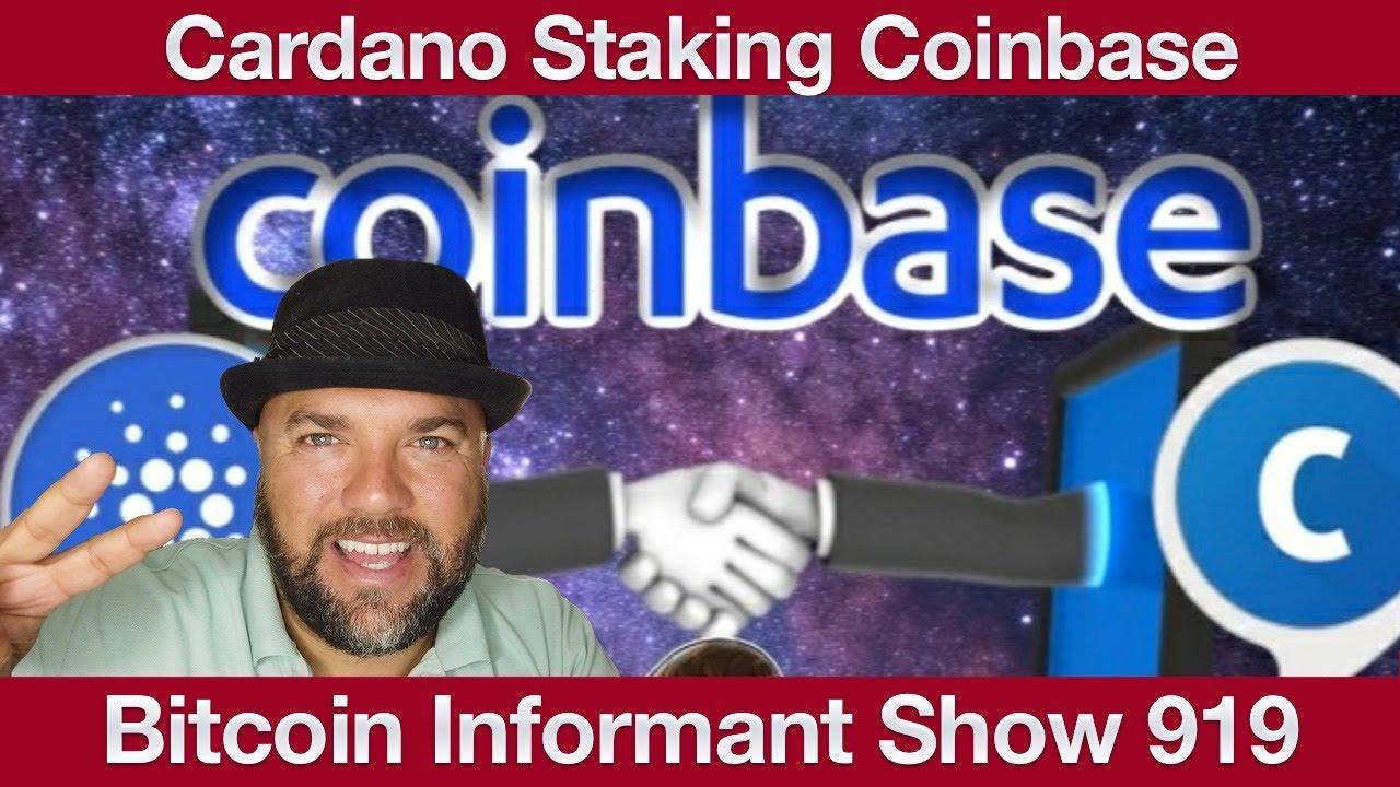 #919 Cardano Staking Coinbase, geringe Bitcoin Volatilität & Digitaler Yuan vs Tether