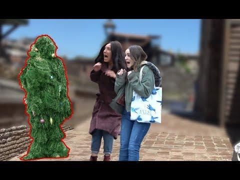 BUSHMAN PRANK - The Best Christmas tree Scare Prank Ever! | New Year's joke